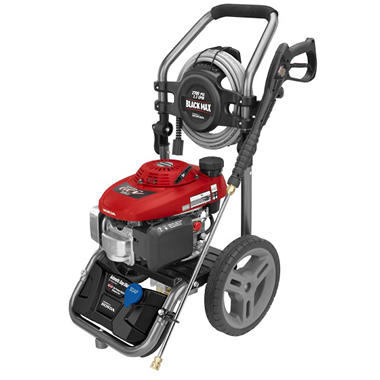 Black Max 2 700 Psi Gasoline Pressure Washer Powered By
