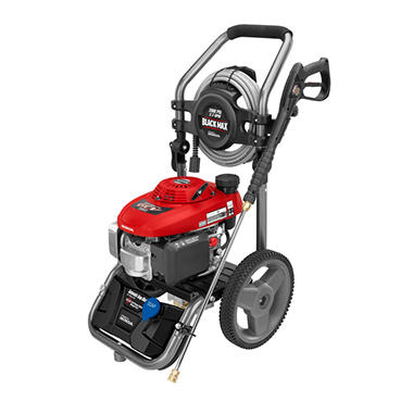 Black Max 2 800 Psi Gasoline Pressure Washer Powered By