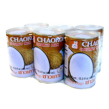 Coconut milk cans