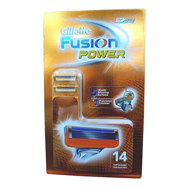 gillette fusion manual cartridges 16 ct