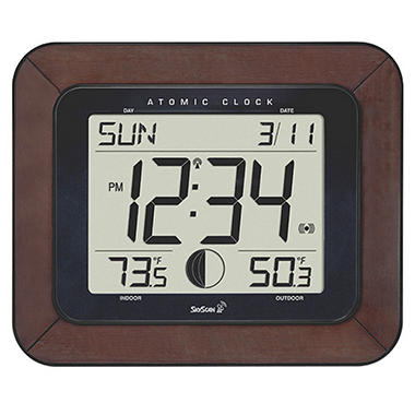Skyscan Atomic Clock Sam S Club