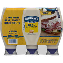 Hellmann's Real Mayonnaise (25 oz., 3 ct.)
