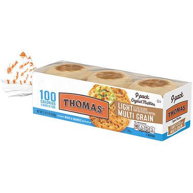 Thomas' English Muffins, Multi-Grain (18 oz. ea. 9 pk ...