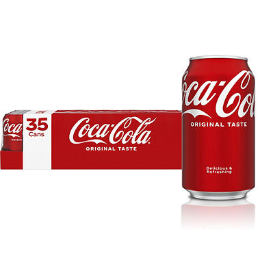Coca Cola 12 Oz Cans 35 Pk Sam S Club