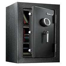 SentrySafe EF3428E Fireproof Safe and Waterproof Safe with Digital Keypad 3.4 Cubic Feet