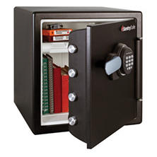 SentrySafe SFW123FTC Fireproof Safe and Waterproof Safe with Digital Keypad 1.23 Cubic Feet