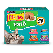 Purina Friskies Classic Pate, Variety Pack (5.5 oz., 48 ct.)