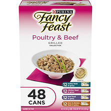 Purina Fancy Feast Collection Variety Pack - Choose Your Flavor (3 oz., 48 ct.)