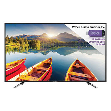 Hitachi 55 Quot Class 1080p Led Hdtv With Roku Streaming Stick
