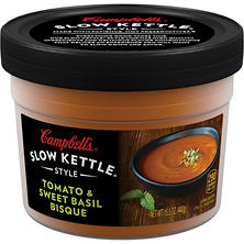 Campbell's Slow Kettle Style Tomato and Sweet Basil Bisque (15.5 oz., 8 pk.)