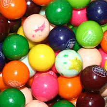 Dubble Bubble 10 Color/Flavor Assorted Gumballs - 24mm - 850 ct.