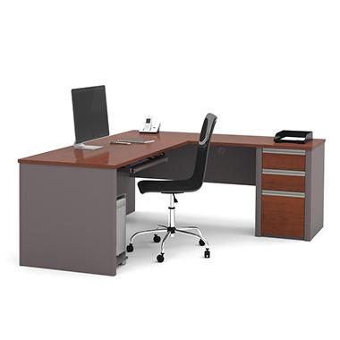 Offline Bestar Connexion Officepro 93000 3 Drawer L Shaped