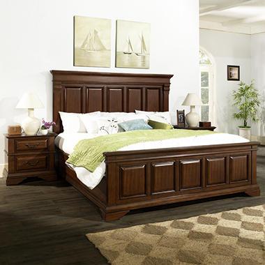 Mcallen King Bedroom Set Sam 39 S Club