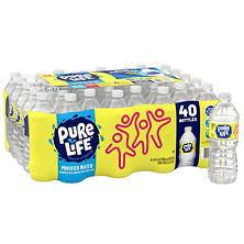 Nestle Pure Life Purified Water (16.9 oz. bottles, 40 pk.)