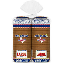 Mrs. Baird's Large White Bread (20 oz., 2 pk.)