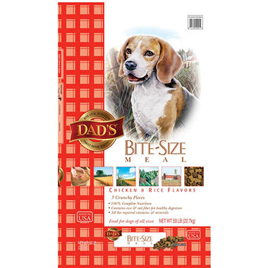 Dad S Bite Size Meal Dog Food