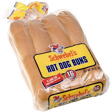 Hot Dog Buns Bulk