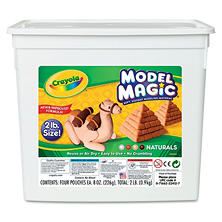 Crayola® Model Magic Modeling Compound, Assorted Natural Colors, 2 lbs.