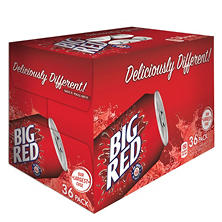Big Red Soda (12 oz. cans, 36 ct.)