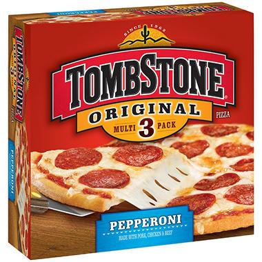 tombstone original pepperoni pizza 3 ct sam 39 s club. Black Bedroom Furniture Sets. Home Design Ideas