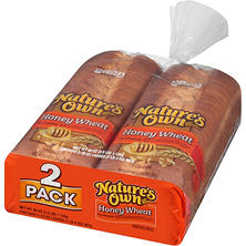 Nature's Own Honey Wheat Bread (20 oz. loaf, 2 pk.)