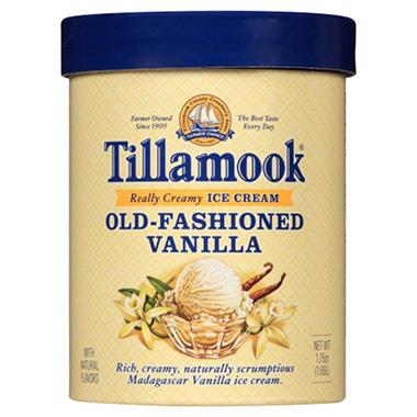 Tillamook Old-Fashioned Vanilla Ice Cream (1.75 qt.) - Sam ...
