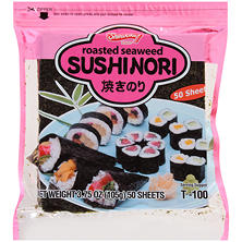 Shirakiku Roasted Seaweed Sushinori (50 ct.)