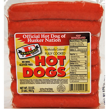 Fairbury Brand Hot Dogs