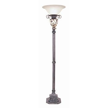 Victorian Style Antique Floor Lamp With Nightlight Sam S