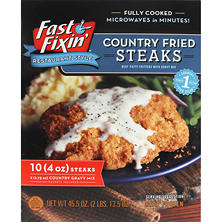 Fast Fixin' Country Fried Steaks with Gravy (45.5 oz.)