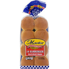 "Master 4"" Hamburger Buns (16 ct.)"
