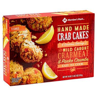 Member S Mark Handmade Crab Cakes 18 Oz Sam S Club