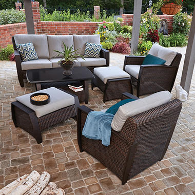 Member S Mark Brooklyn 6 Piece Deep Seating Set With