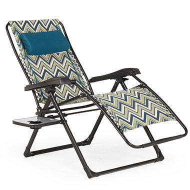 Member 39 s mark anti gravity lounge chair brooklyn sam 39 s for Anti gravity chaise lounger