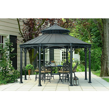 Mulford Hardtop Gazebo Sam S Club