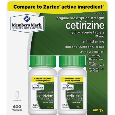 Psychiatric Drugs - Zyrtec (Cetirizine Hydrochloride)