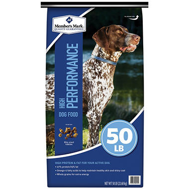 Member S Mark High Performance Dry Dog Food 50 Lbs