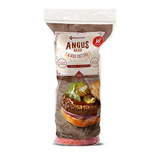 Member's Mark Ground Angus Beef Patties (1/3 lb patties, 18 ct.)