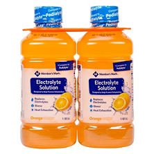 Member's Mark Electrolyte Solution, Orange (1.1 qt., 2 pk)