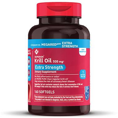 Member s mark extra strength 100 pure omega 3 krill oil for Sam s club fish oil