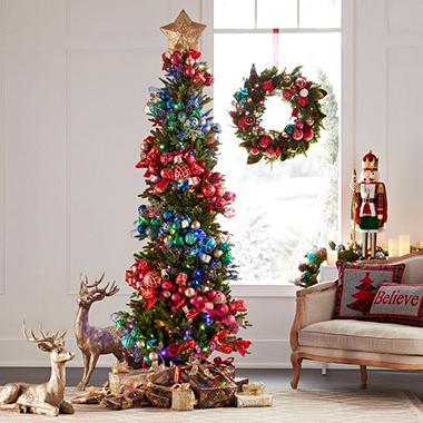 Member's Mark 7' Color-Changing Dawson Pine Christmas Tree ...