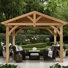 gazebos pergola kits sam 39 s club. Black Bedroom Furniture Sets. Home Design Ideas