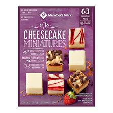 Member's Mark Cheesecake Miniatures (63 ct.)