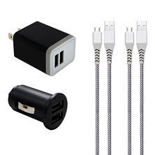Member's Mark Micro USB Power Pack Car & Wall Charger