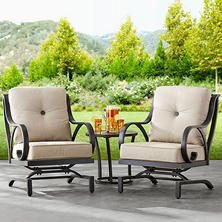 Member's Mark Harbor Hill Sunbrella Chairs, 2 Pack
