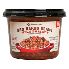 Member's Mark BBQ Baked Beans With Brisket (40 oz.)