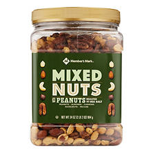 Member's Mark Roasted and Salted Mixed Nuts with Peanuts (34 oz.)