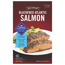 Sea Cuisine Atlantic Blackened Salmon (2 lbs.)