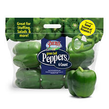 Green Bell Peppers (6 ct.)