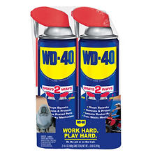 WD-40 Twin Pack (14.4 oz.)